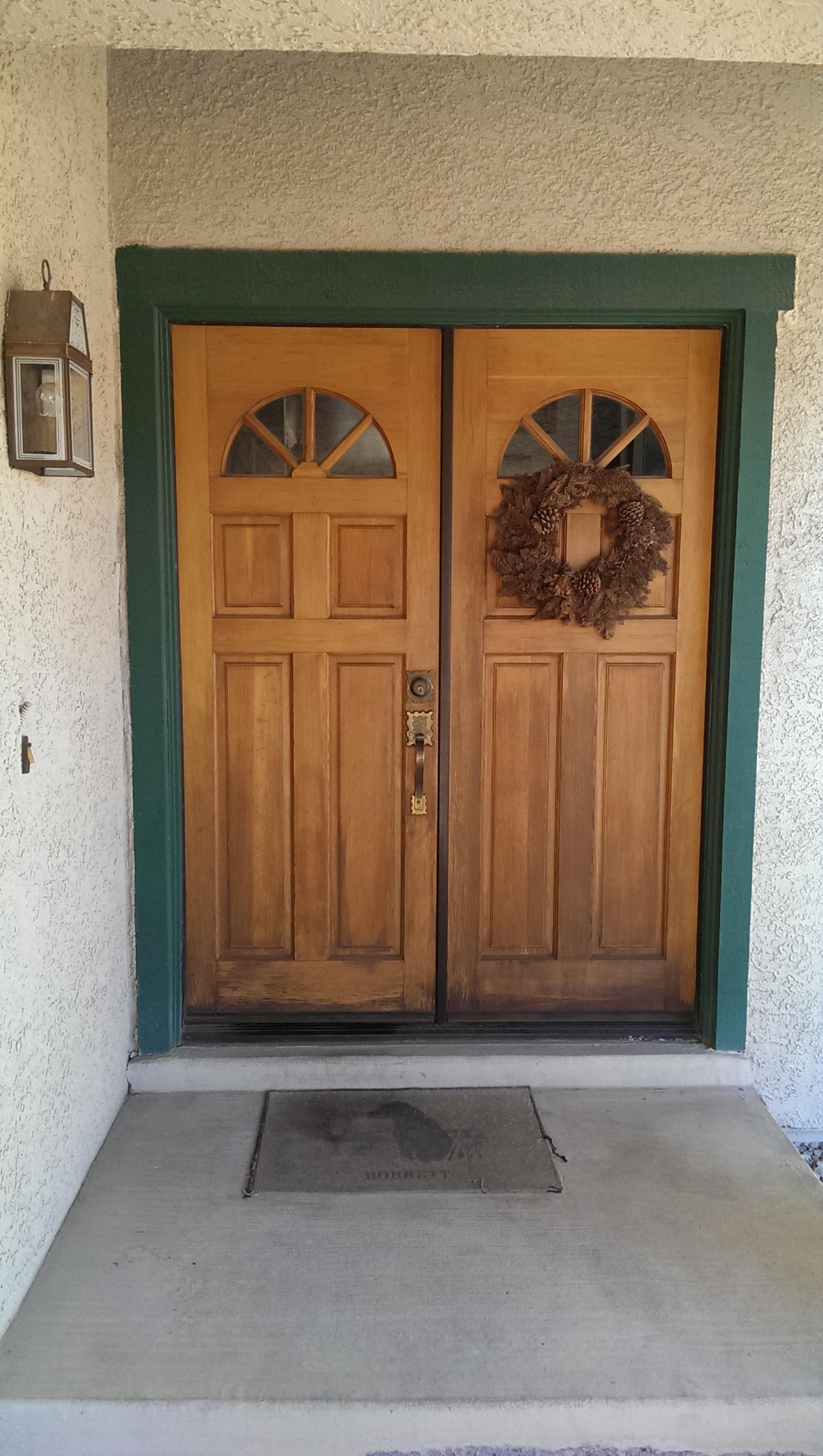 Bobbett Residence Entry Door Nesco Construction