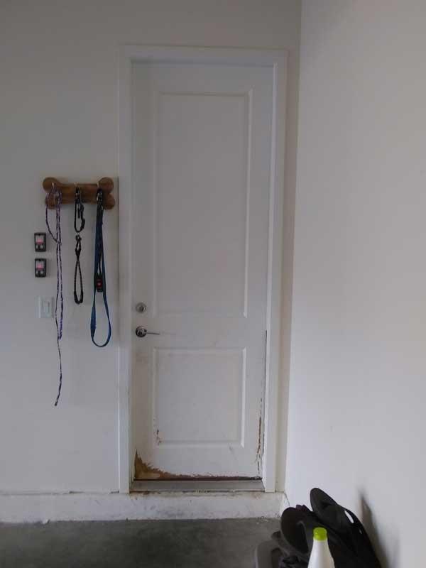 Aguilar Residence Fire Door From, Fire Door Garage To House