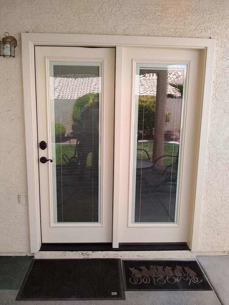 Friedman Patio Door After Nesco Construction